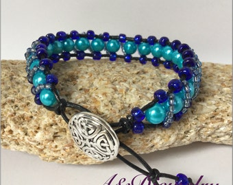 Fancy Turquoise Blue Bracelet