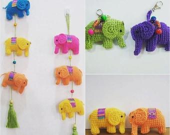 Amigurumi Pattern Little Elephant in PDF