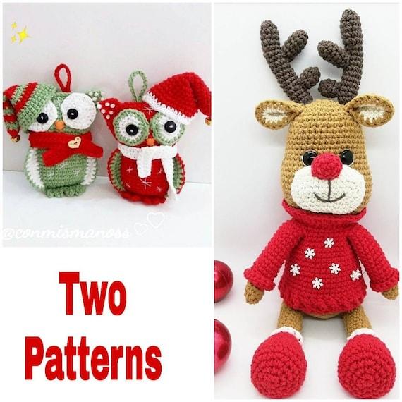Ideas de Navidad Como hacer a Rodolfo el reno a crochet Easy ... | 570x570