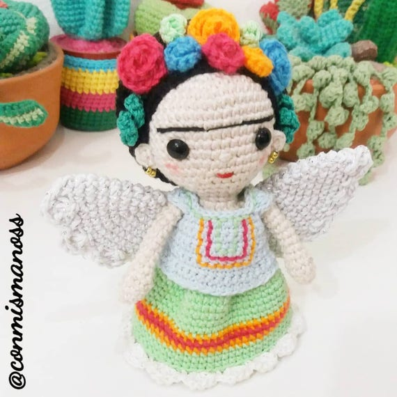 DOLL WITH WINGS. Amigurumi Pattern in pdf. | Etsy
