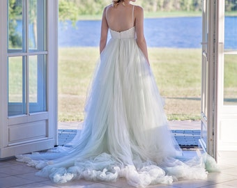 Tulle wedding dress | Etsy