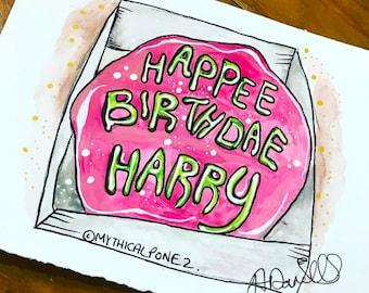 Hagrid Cake Etsy