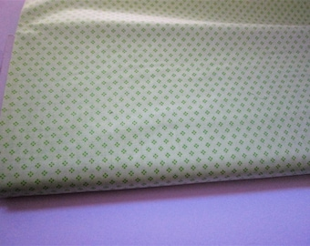 Yardage of Petite Fours in Spring Green from Tea Cakes Line by Verna Mosquera for Free Spirit Westminister Fabrics