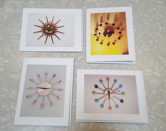 Mid Century * Note Cards/ Pack of 5    (It's About Time!)