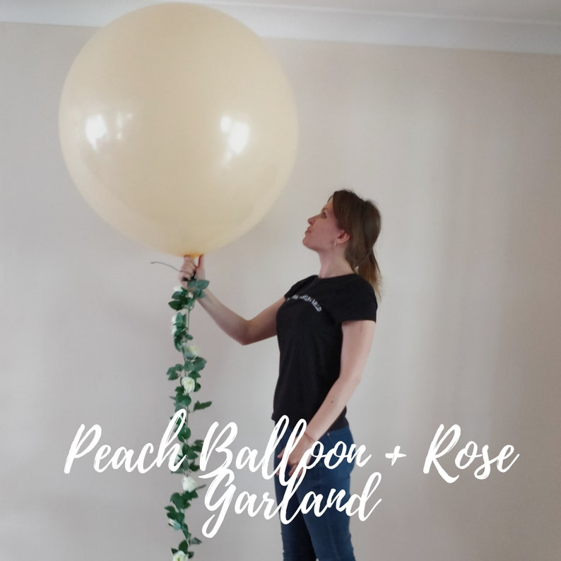 """Pack 6 LARGE 3ft LATEX ROUND JUMBO BALLOONS GIANT 3 foot BIG 36 inches 36/"""""""