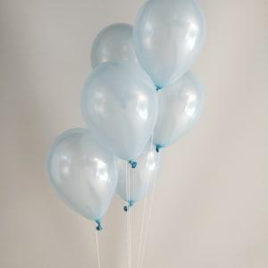 Lavender Balloon Bouquet  Peach 21st 30th Brithday  Balloons Bridal Shower Decor Mint Blush Wedding Decor