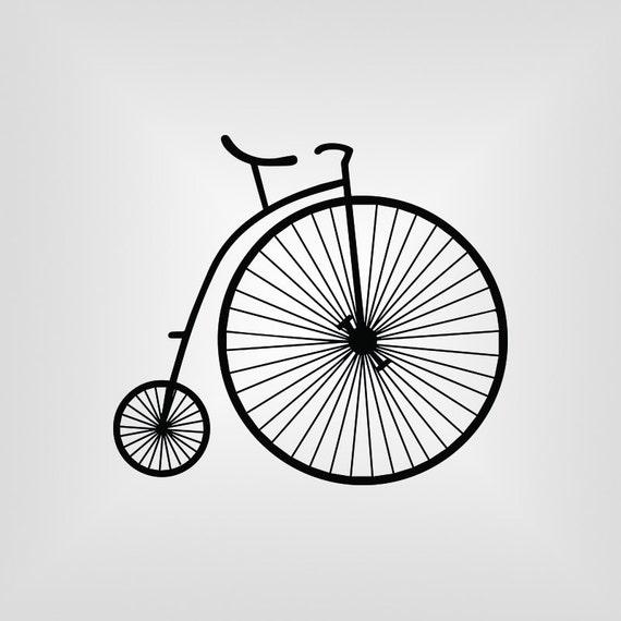 Seller. U.K Penny Farthing Bicycle Craft Die Card Making Scrap Booking