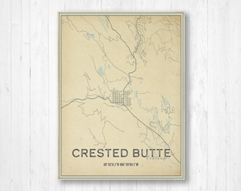 Crested butte print