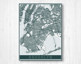 New York Subway Map Jumpers.Brooklyn Ny Map Etsy