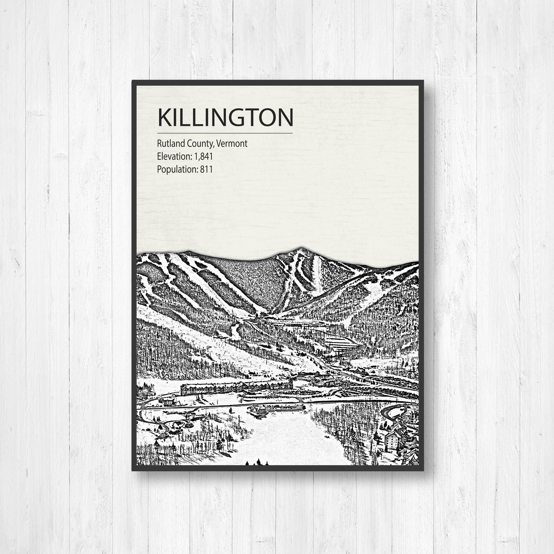 killington ski resort, ski resort, rutland county, vermont, visit