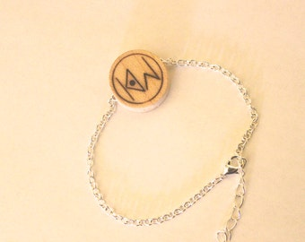 the orginal knock on wood bracelet