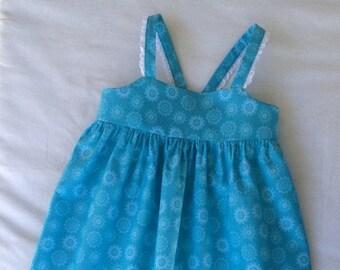 Baby Girls Dress, Girls Clothing, Toddler Dress, Childs Dress, Little Girls Dress, Party Dress, Flutter Sleeve Dress