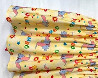 Dumbo Dress, Disney Dress, Baby Girls Dress, Little Girls Dress, Dumbo Party Dress, Flutter Sleeve Dress