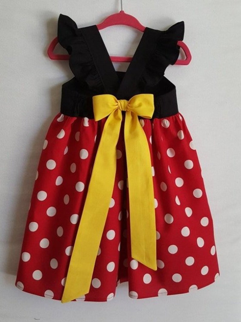 52b71b8e9e73 Minnie Mouse Dress Minnie Dress Disney Dress Baby Girls