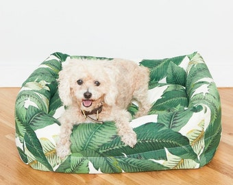 Palm Frond Nest Bed | Quick Ship for In Stock Sizes