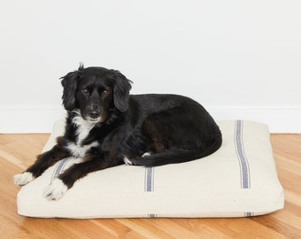 Grain Sack Dog Bed // Quick Ship // XXL