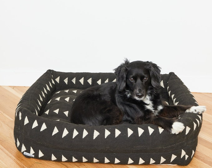 Custom Mudcloth Nest Bed | Various sizes, colors, and patterns