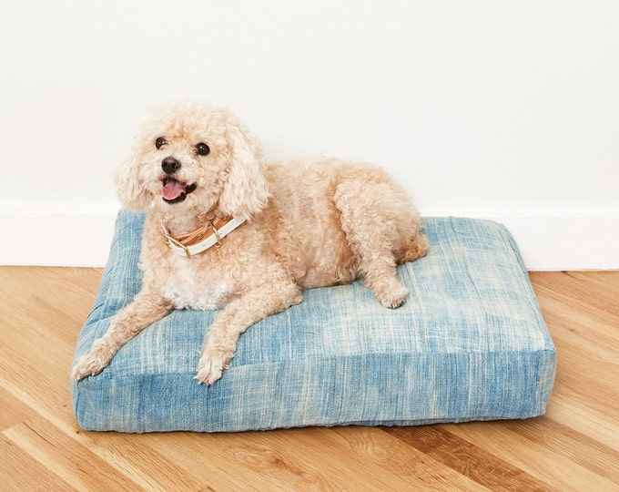 Indigo Dog Bed // Medium