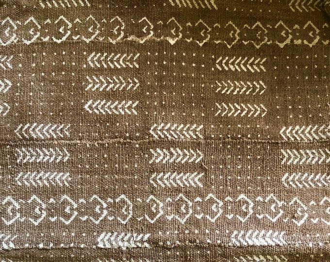 Cinnamon Mudcloth Dog Bed // Medium