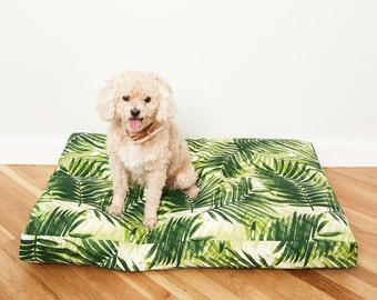 Fern Frond Dog Bed // Made to Order