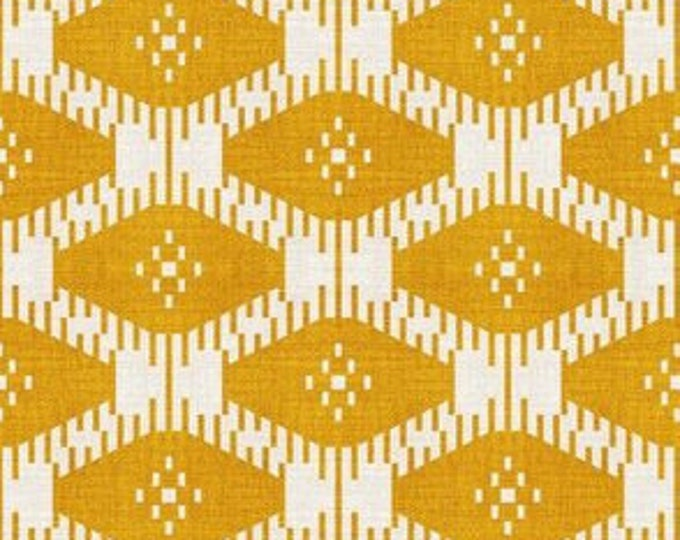 Golden Ikat Dog Bed  |  Made To Order  |  Durable Pet Bed