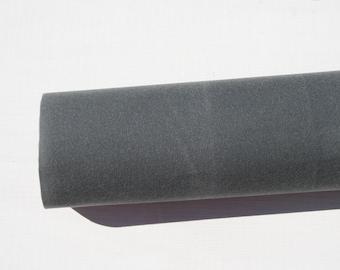 Charcoal Gray Waxed Canvas - 10.10oz Army Duck Waxed Canvas