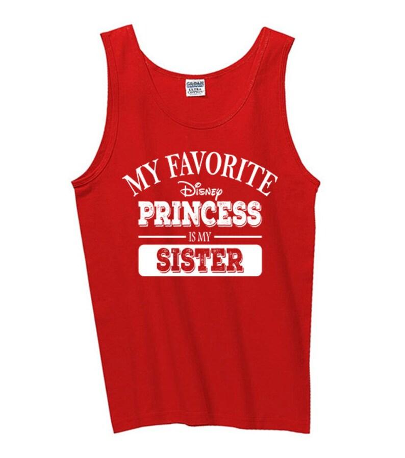 76ac62048b952 Mens Tank Tops My Favorite Disney Princess is My Sister