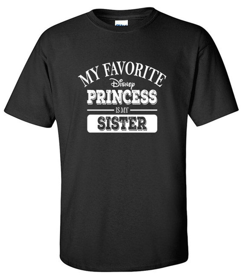 7f90be12 Brother Gift Princess Shirt My Favorite Disney Princess | Etsy