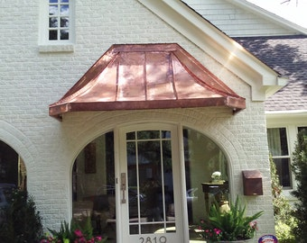 Parisian Copper Awning By Classiccopper Com