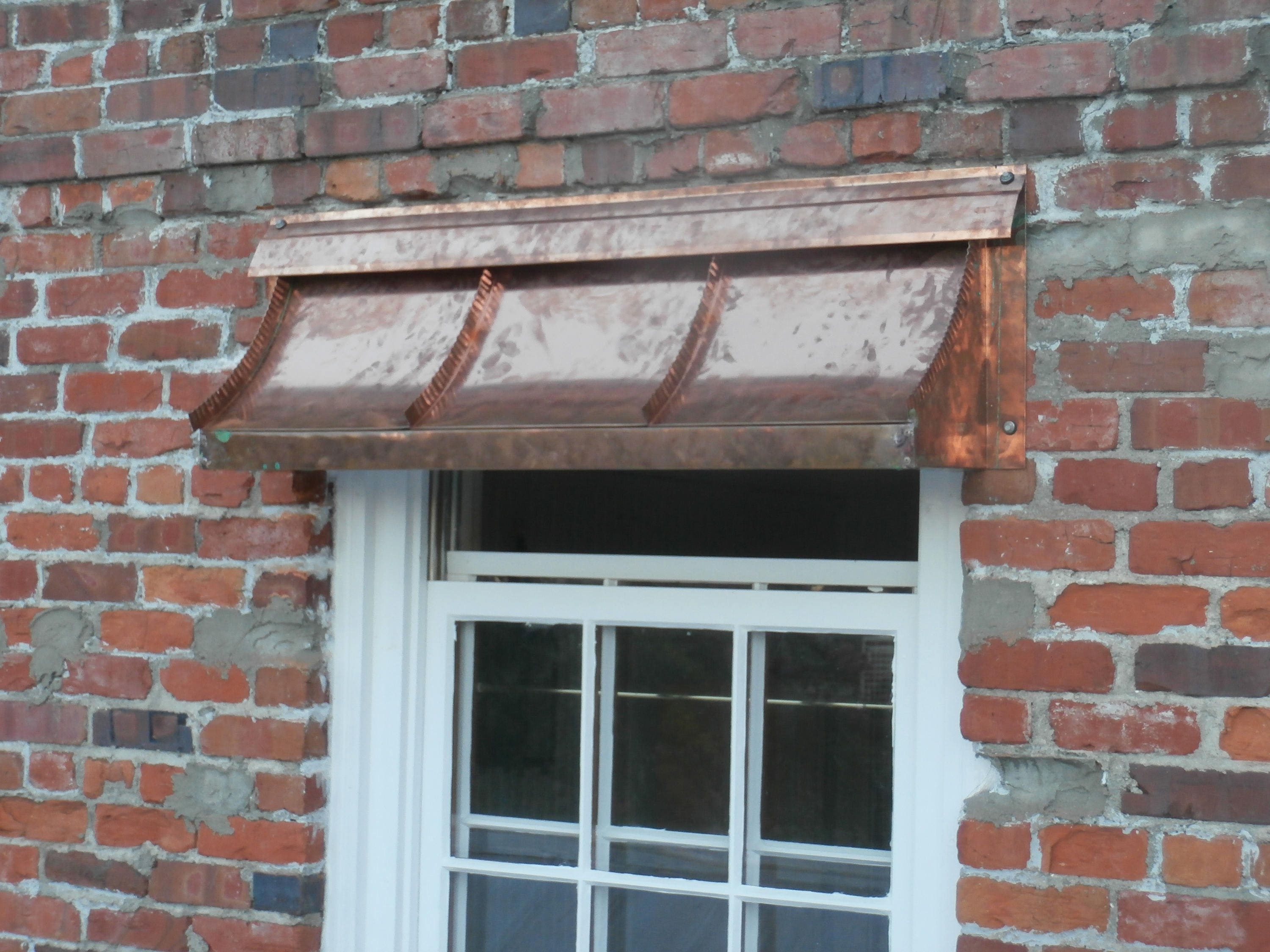 French Sweep Copper Awning By Classiccopper Com Etsy