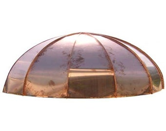 Classic Arch Copper Awning* by ClassicCopper.com