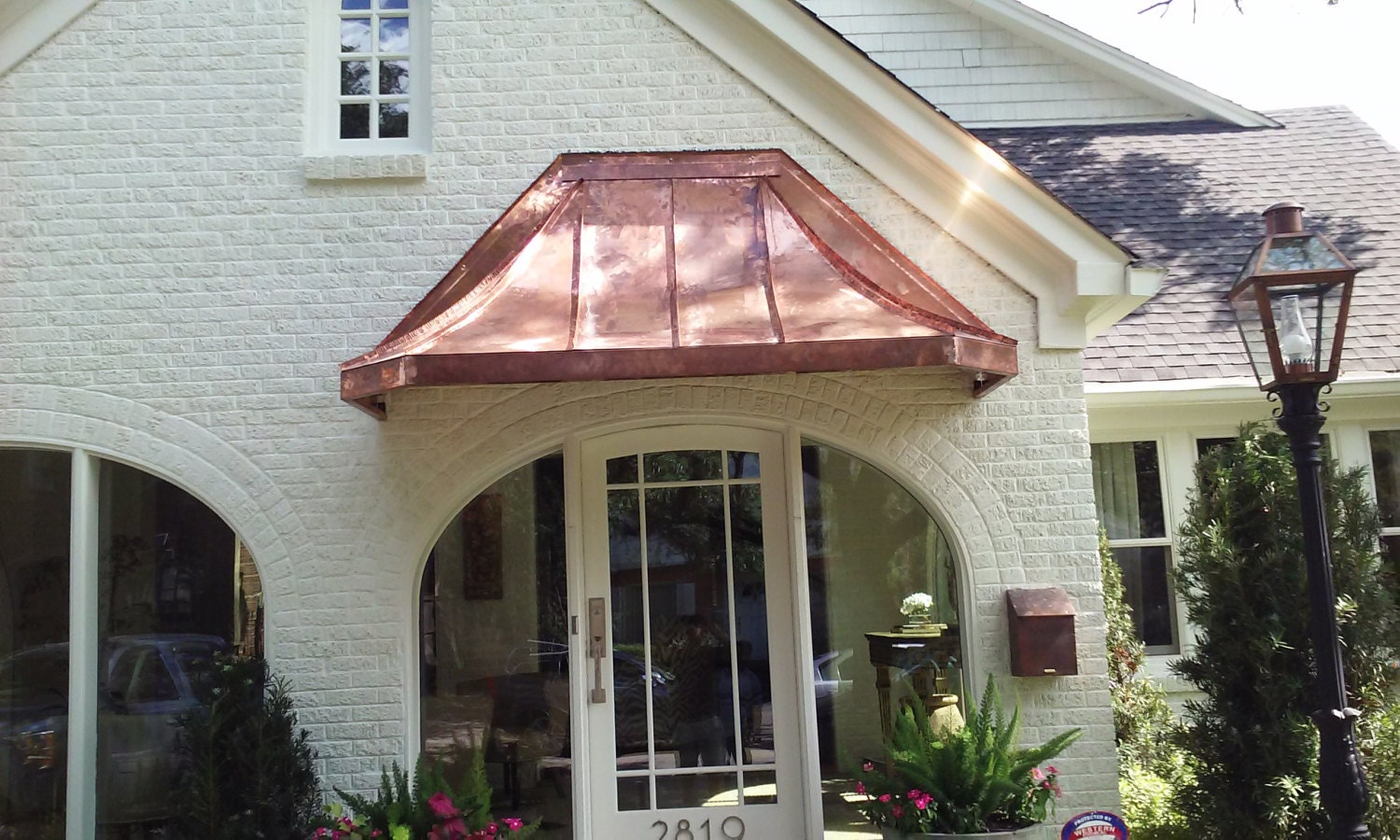 Parisian Copper Awning By Classiccopper Com Etsy