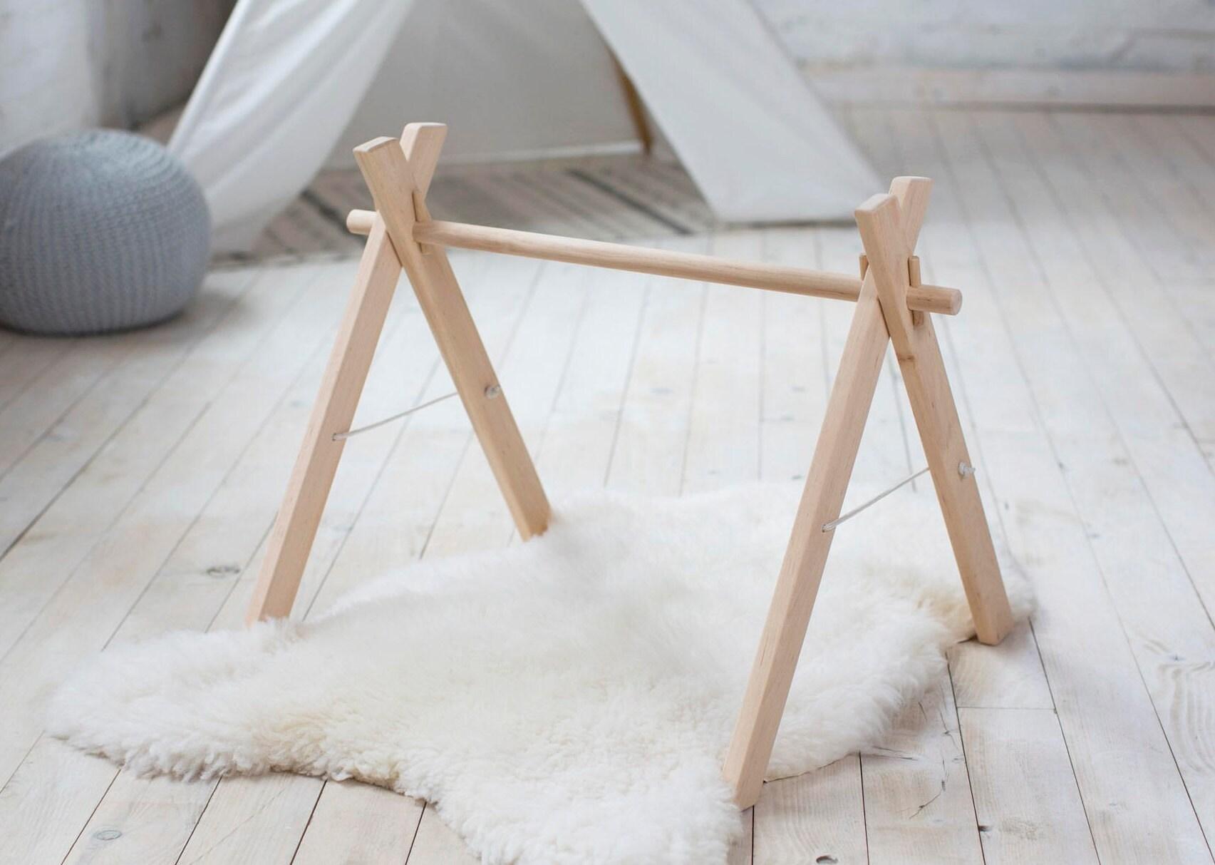 Holz Baby Gym Rahmen faltbar zu spielen Fitness-Studio | Etsy