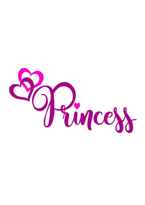 Princess Svg Svg File Png File Dxf File Cricut File Etsy