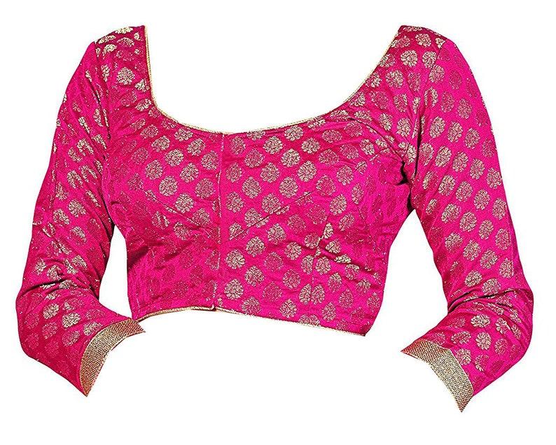 d8544b11f5 FREE SHIPPING Ready-made Pink Party Wear Wedding Banarasi | Etsy