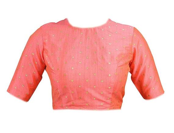 Leichte rosa Poly Seide neue fertige solide Schnittmuster | Etsy
