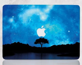 Night Macbook Case Tree Macbook Pro 13 Hard Case Macbook Air Case Hard Macbook Air 11 Case Macbook Air 13 Case Hard Laptop Case Sky RD5015