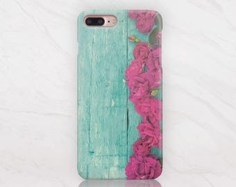Wood iPhone Case  8 Plus iPhone X Case iPhone 6 Case Samsung Galaxy S8 Plus Case iPhone 7 Plus Case Samsung Note 8 Case Floral Case RD1657