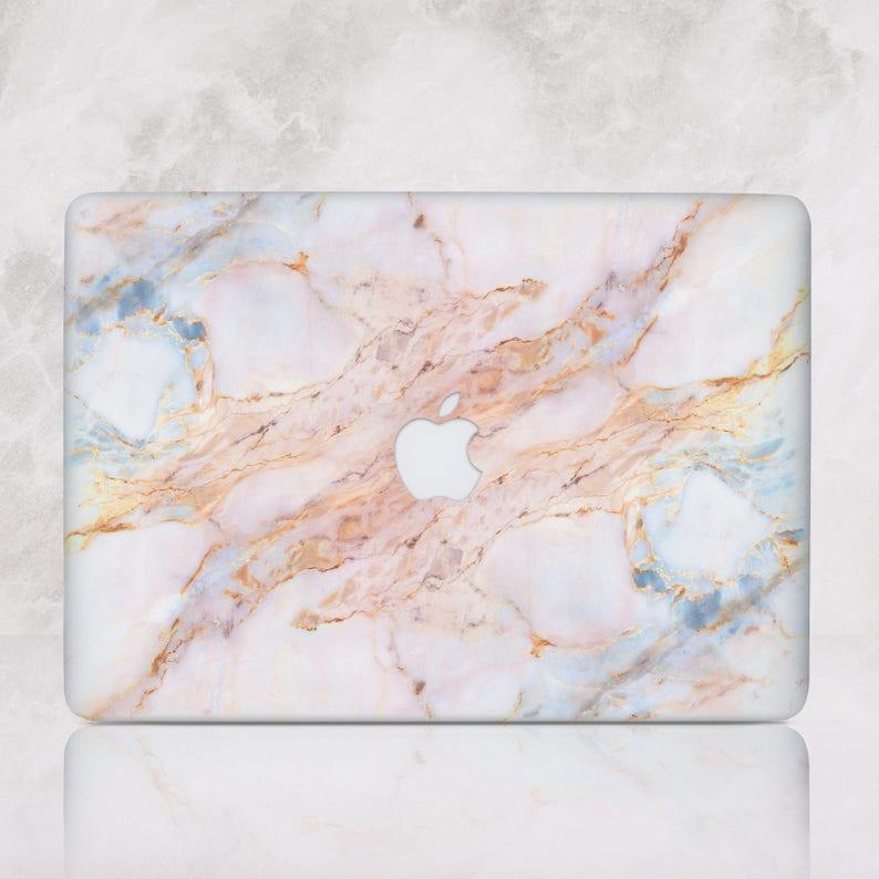 Stone Marble Macbook Pro 13 Hard Case Pro Retina 15 Case image 0