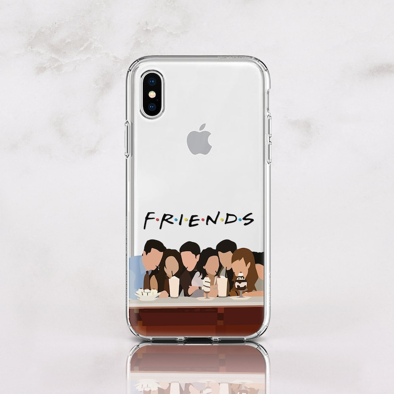 new styles 4d09a c3c25 Friends iPhone XS Max Case Silicone XR Case TV Movies Samsung S9 Plus Case  Joe iPhone X Case ote 9 Gift for Best friends RD1579