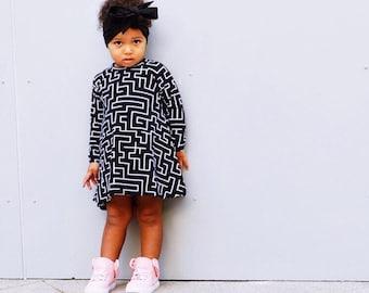 Boho black neutral headwrap topknot baby headband, baby topknot, knotted headband, baby headband, baby headband,