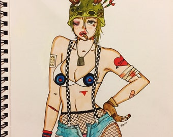 21st Century Tank Girl (Original Art)