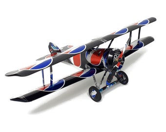 Pepsi Max WW1 Sopwith Camel Recycled Tin Can Model Plane