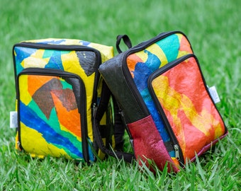 Asuza Kids Backpack Made From Recycled Plastic Bags