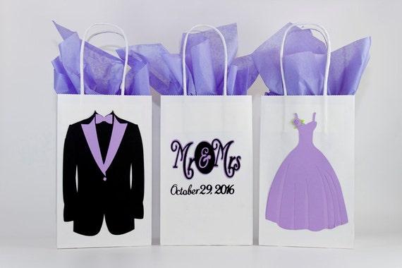 Wedding Gift Bags Bridesmaids Gift Bags Groomsmen Gifts Etsy