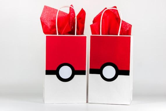 Pokemon Party Bags Pokemon Pokeball Party Bags Pokemon Birthday