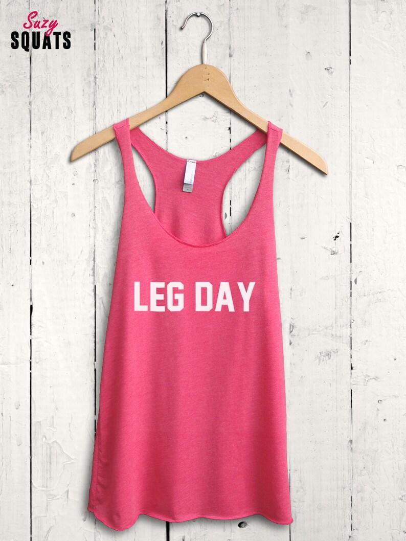 Leg Day Shirt Leg Day Tank Top Funny Gym Tank Cute Gym Etsy