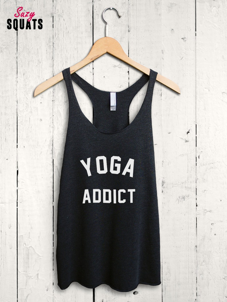 db278af692 Flowy Yoga top yoga workout tank top cute yoga shirt | Etsy