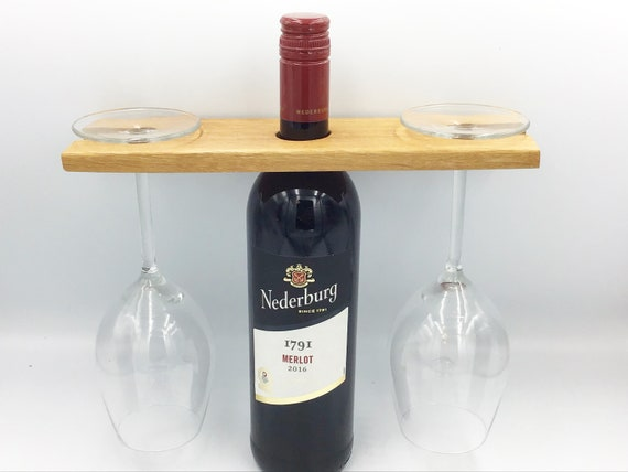 Wine glass holder. For carrying wine glasses. Fireside wooden wine accessory. Good for serving wine. For wine glasses. Great wine lover gift