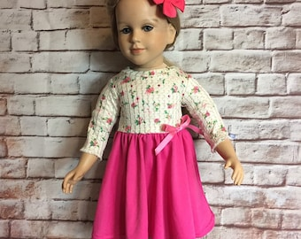 Happy Birthday Dress fits My Twinn 23 inch doll handmade and new